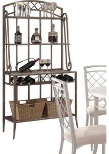 Magnificent Acme Aldric Antique Black Metal Storage Bakers Rack Pdpeps Interior Chair Design Pdpepsorg