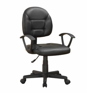 Coaster Contemporary Style Black Office Chair