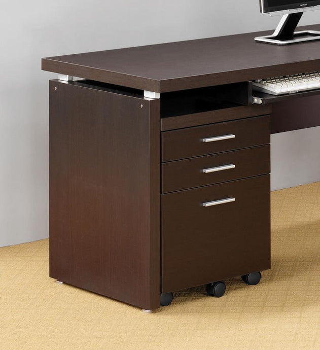 Skylar Mobile Pedestal with Drawers and Casters