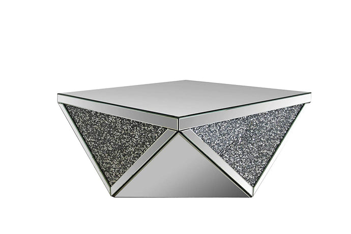 Acme 82770 Noralie Modern Mirrored Coffee Table