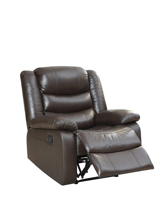 Acme Fede Espresso Leather Match Recliner Chair