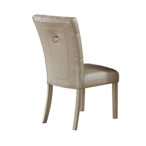 Acme Voeville Platinum Side Chair