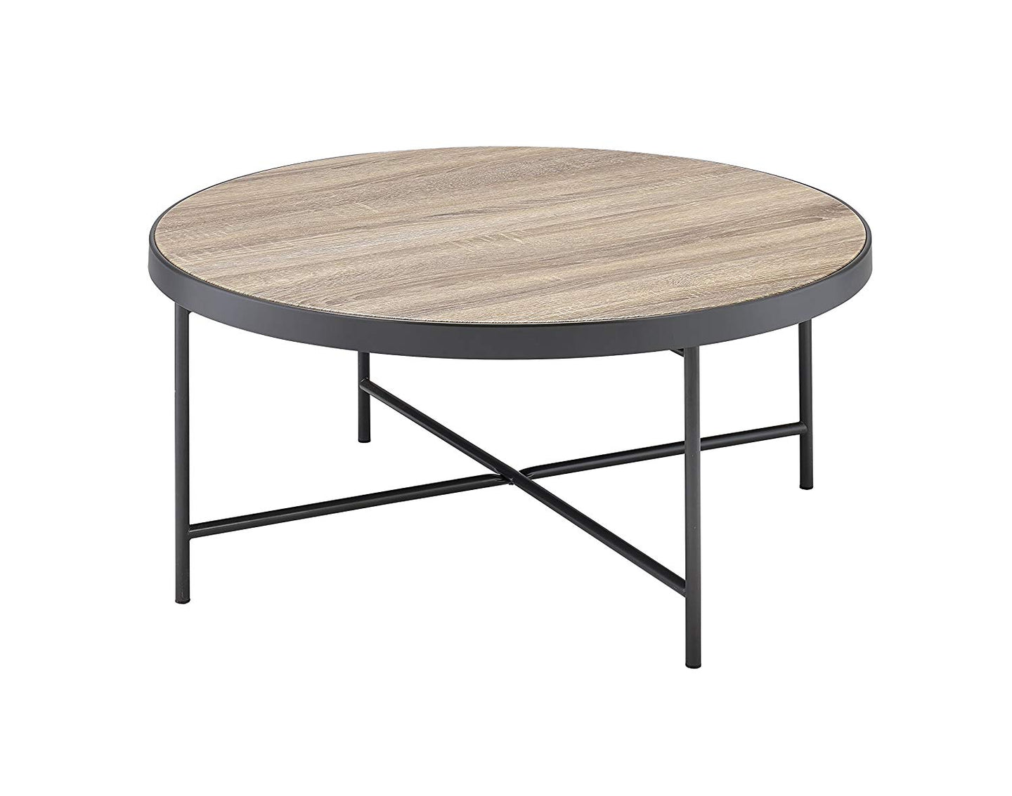 Acme 81735 Bage Weathered Gray Oak Finish Coffee Table