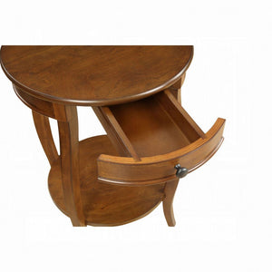 Acme Alysa Walnut Wood Finish End Table
