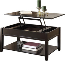 Load image into Gallery viewer, Acme 82950 Malachi Black Finish Lift Top Coffee Table