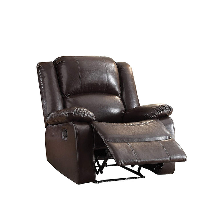 Acme Vita Espresso PU Leather Recliner Chair
