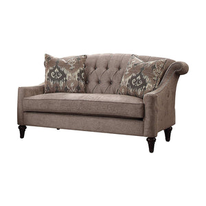 Acme 52866 Colten Gray Fabric Finish Vintage Loveseat