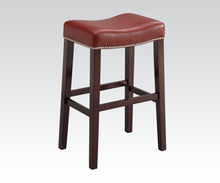 Load image into Gallery viewer, Acme Gaucho Oak Wood Finish 2 Piece Counter Height Bar Stool