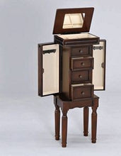 Load image into Gallery viewer, Acme Depot Walnut Storage Jewelry Armoire