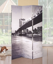 Load image into Gallery viewer, Acme Trudy Bridge Scenery Design Panel Wooden Screen