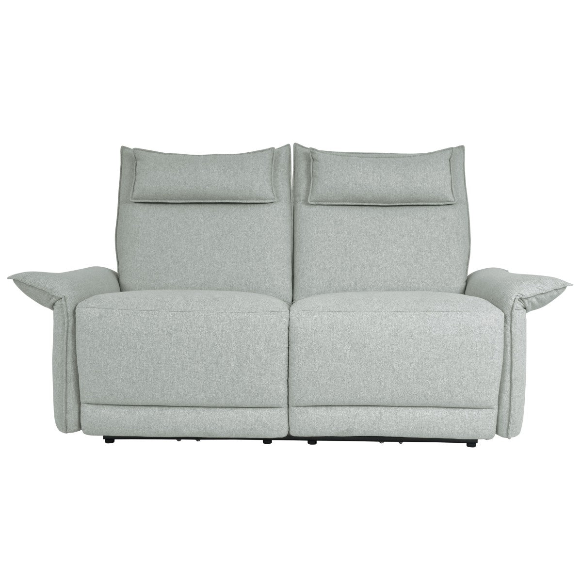 Homelegance Linette Taupe Polyester Finish Power Reclining Loveseat