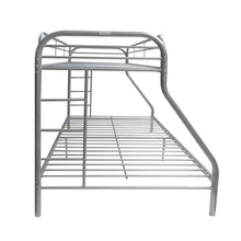 Load image into Gallery viewer, Acme Tritan Silver Twin XL Queen Metal Bunk Bed