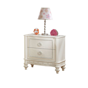 Acme Dorothy Ivory Drawer Wood Finish Nightstand