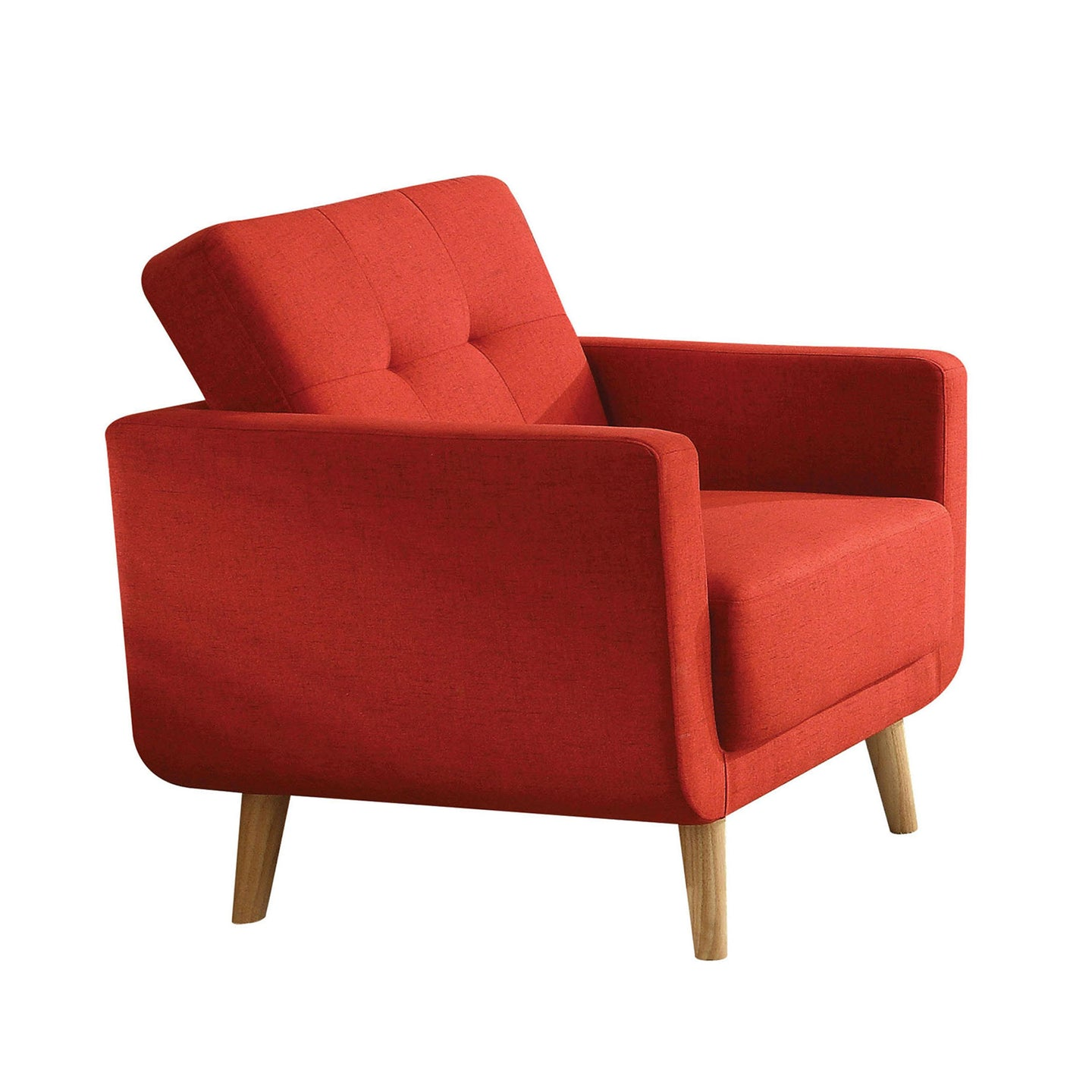 Acme 52662 Sisilla Contemporary Red Fabric Chair