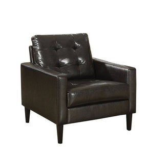 Acme Balin Espresso Pu Leather Accent Chair