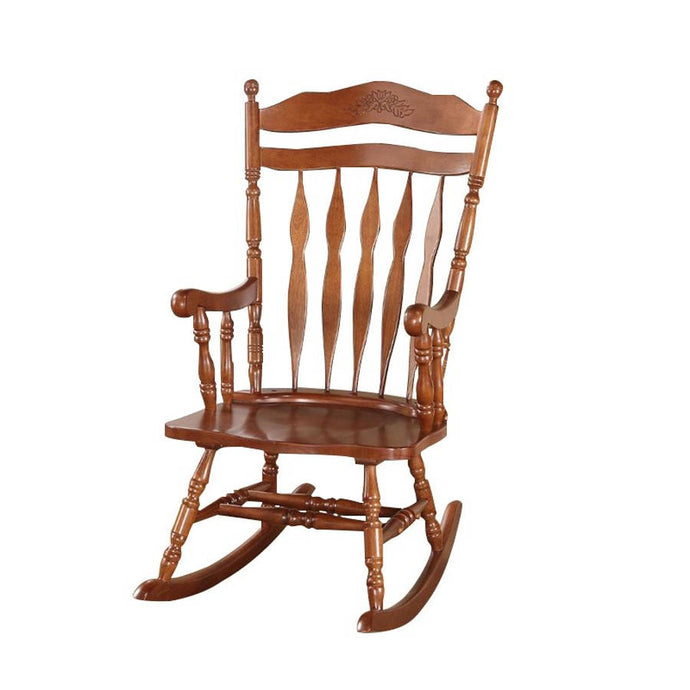 Acme 59209 Kloris Dark Walnut Finish Rocking Chair