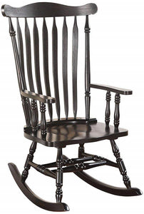 Acme Kloris Black Rocking Chair