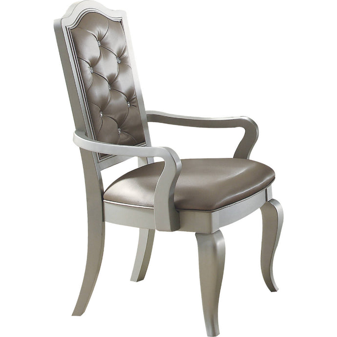 Acme Francesca Champagne Arm Chair