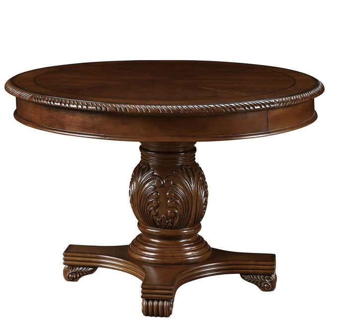Acme Chateau De Ville Cherry Wood Finish Dining Table
