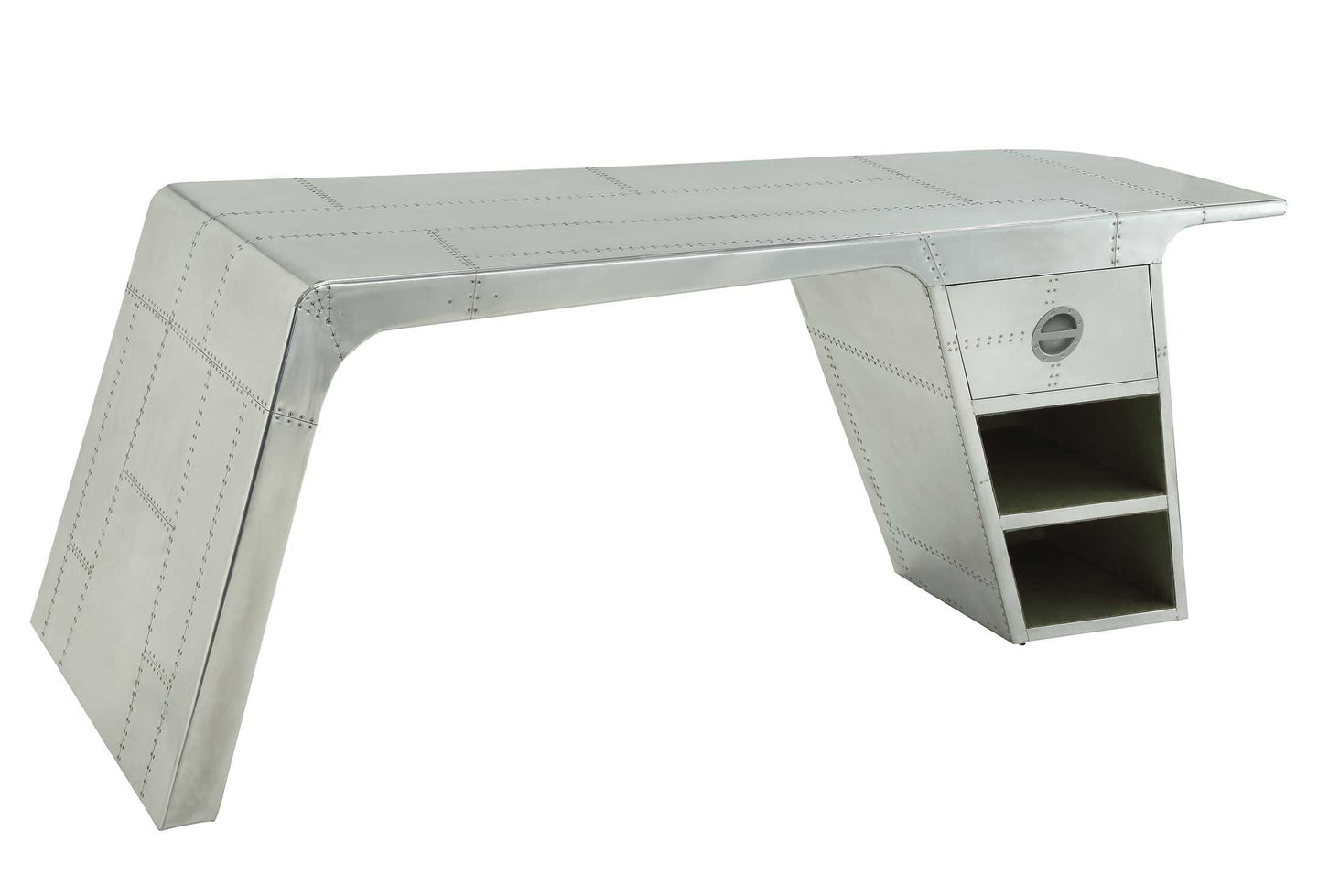Acme 92190 Brancaster Industrial Style Home Office Desk Drawer