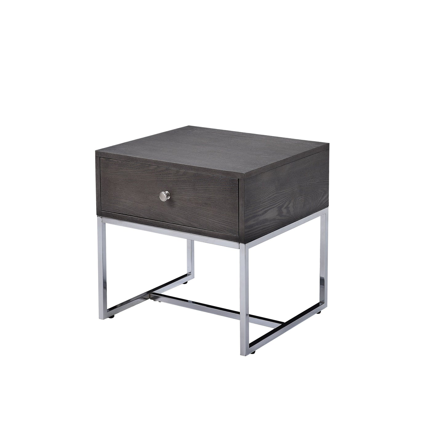 Acme 81172 Iban Gray Wood Finish End Table
