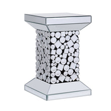 Load image into Gallery viewer, Acme 81427 Kachina Silver Mirrored Finish End Table