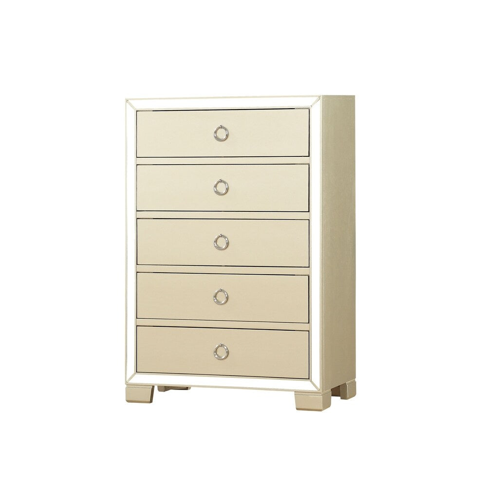 Acme 27146 Voeville II Champagne Wood Finish Chest