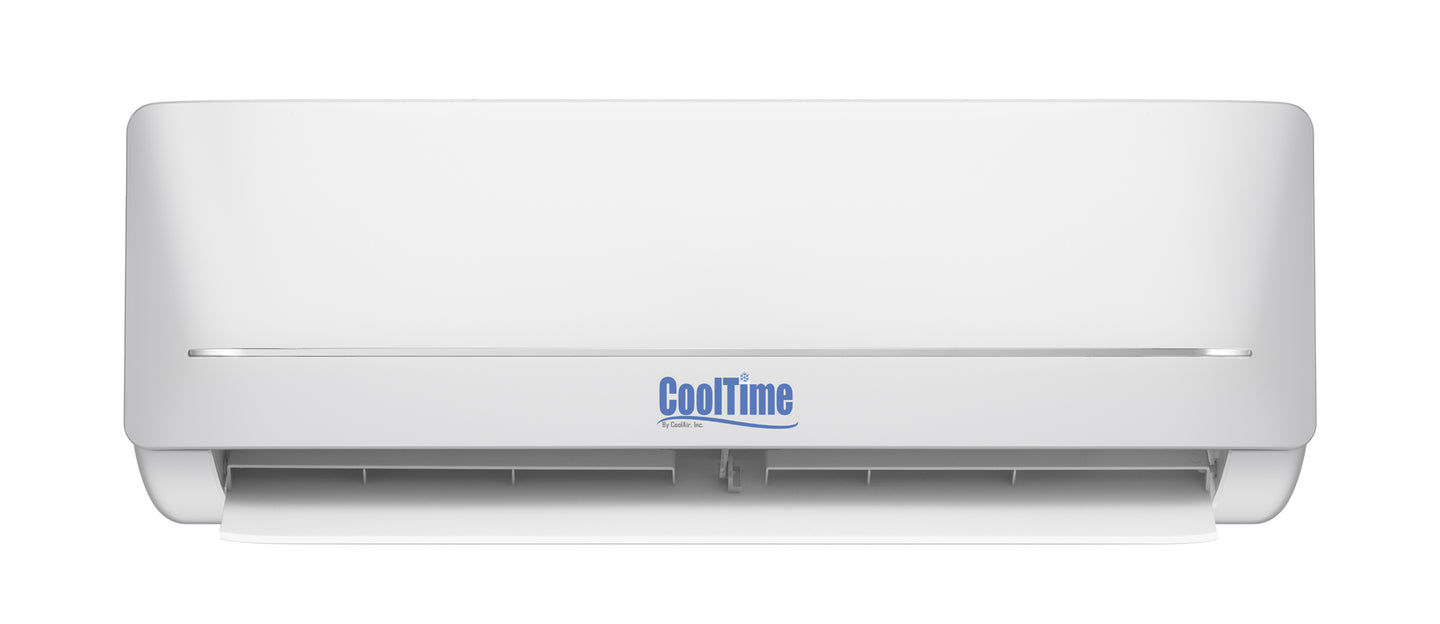 CoolTime 9000 BTU Ductless Mini Split Air Conditioner and Heater