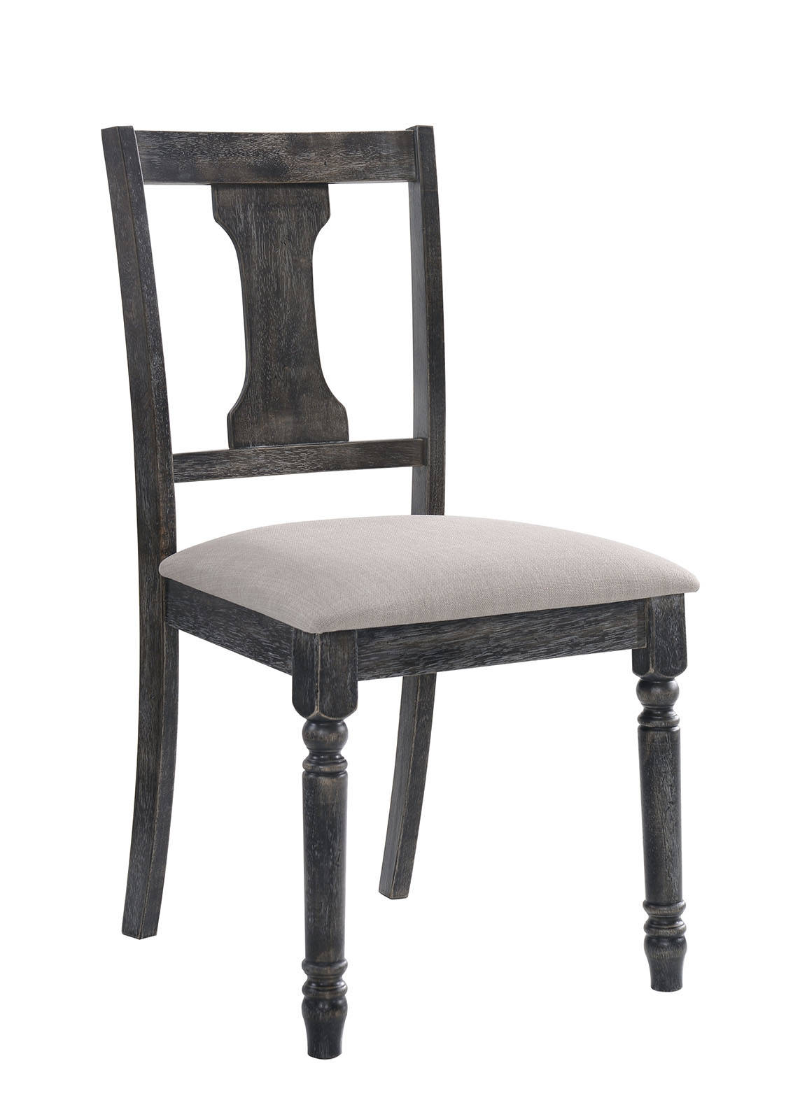 Furniture of America CM3137SC Muriel Rustic Dining Chair Set of 2
