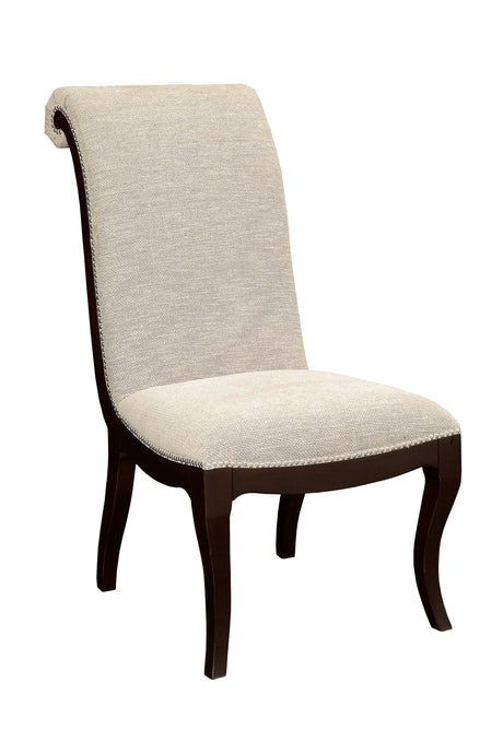 Furniture of America Ornette Contemporary Espresso Side Chair Set of 2
