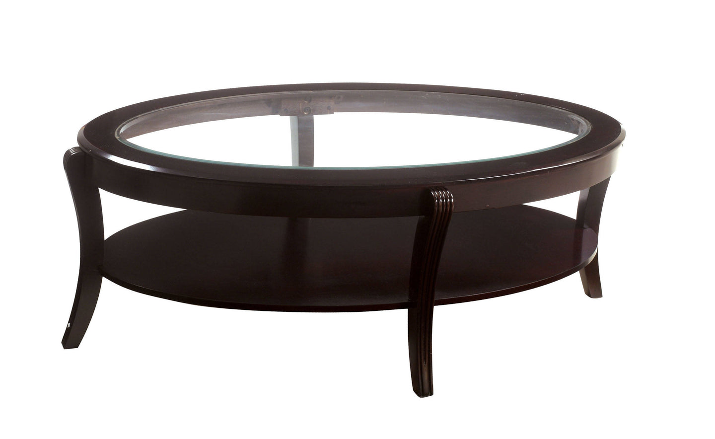 Finley CM4488C Contemporary Espresso Wood Coffee Table