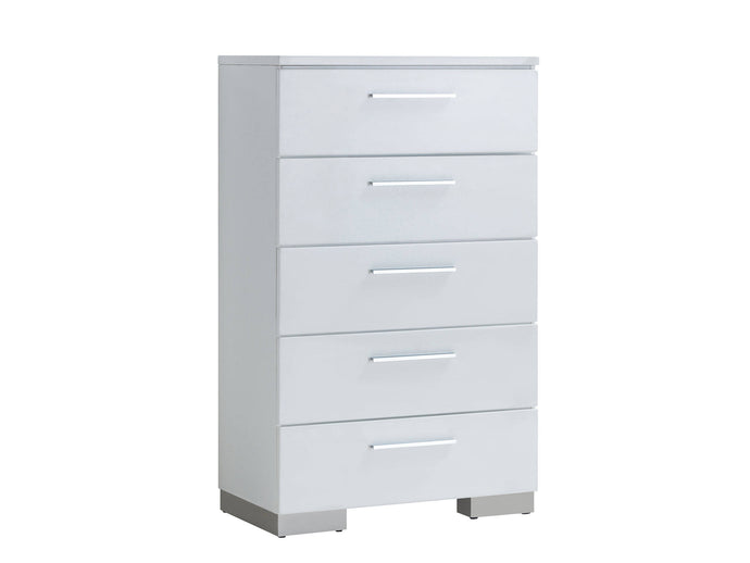 Furniture of America CM7550C Christie White Finish Chest