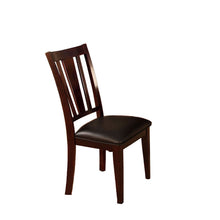 Load image into Gallery viewer, CM3325SC Bridgette I Leatherette Espresso Finish Dining Chair Set of 2