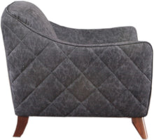 Load image into Gallery viewer, Acme 52612 Daffofdil Gray Fabric Finish Chair