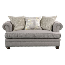 Load image into Gallery viewer, Acme 53096 Gardenia Gray Fabric Finish Loveseat