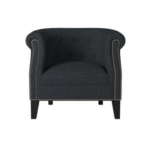 Load image into Gallery viewer, Homelegance Karlock Grey Polyester And Wood Finish Accent Chair