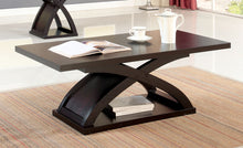 Load image into Gallery viewer, Furniture of America Arkley Espresso Wood Finish Coffee Table