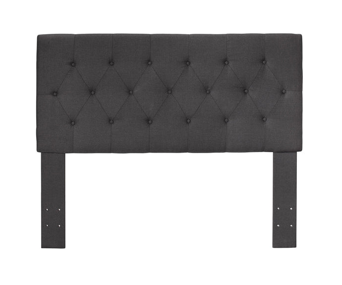 Furniture Of America Leeroy II Gray Fabric Finish Queen Full Headboard