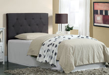 Load image into Gallery viewer, Furniture Of America Leeroy II Contemporary Gray Fabric Finish Twin Headboard