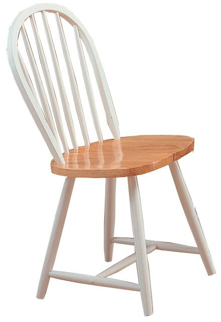 Coaster Damen Windsor Two Tone Dining Side Chair Set of 4