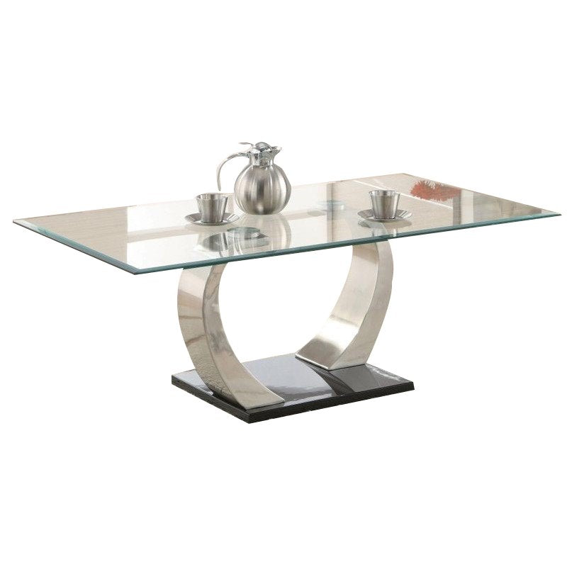 Shearwater Glass Top Coffee Table