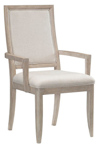 Homelegance Mckewen Natural Oak Wood Finish 2 Piece Arm Chair