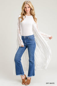Lydia lace duster