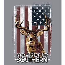 Straight up Southern- Patriotic Deer