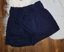 Cotton bow tie shorts