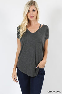 Lucy cutout top