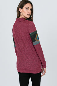 Tribal my heart pullover