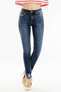 Joann distressed Kancan jeans