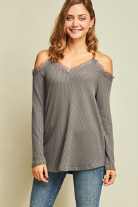Lacey cold shoulder