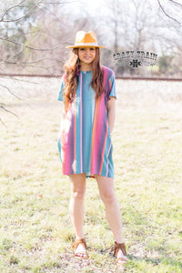Sierra serape dress